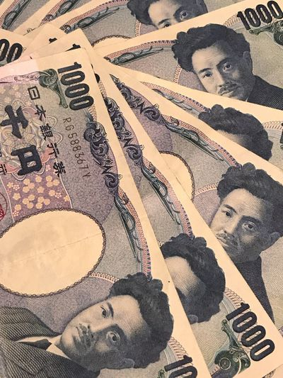 Money Money Money Money Money Around The World Currency Japanese Yen Bills Cash Cashmoney