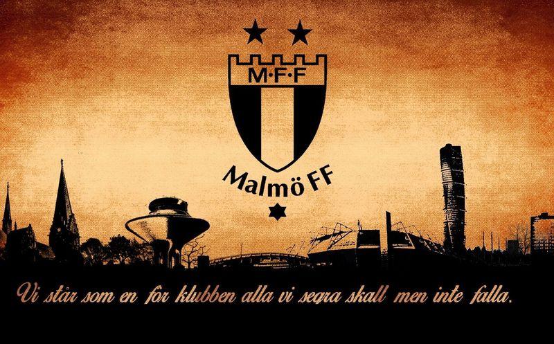Malmö FF Himmelsblått Di Blåe Mff Himmelsblå Kærlighed