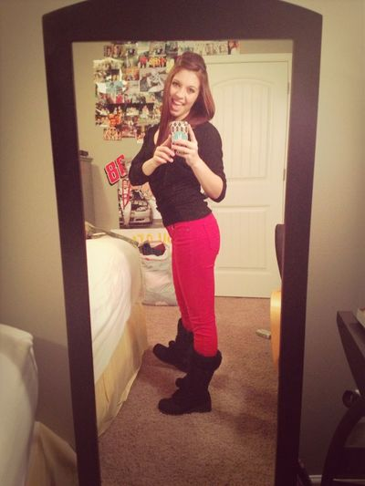 Red Pants ✌
