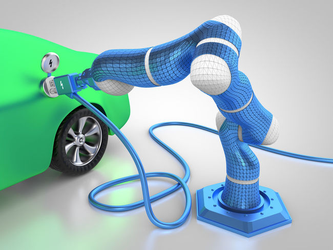 electric car charging 3D 3d Rendering Auto Autobody Automobile Automotive Autonomous Cable Car Car Charging Carbody Charged Charging Charging Electric Car Electric Electric Car Electric Car Charging Electric Vehicle Electricity  Rendering Robot Robotic Robotic Arm Robotics Vehicle