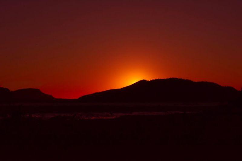Sunset views at