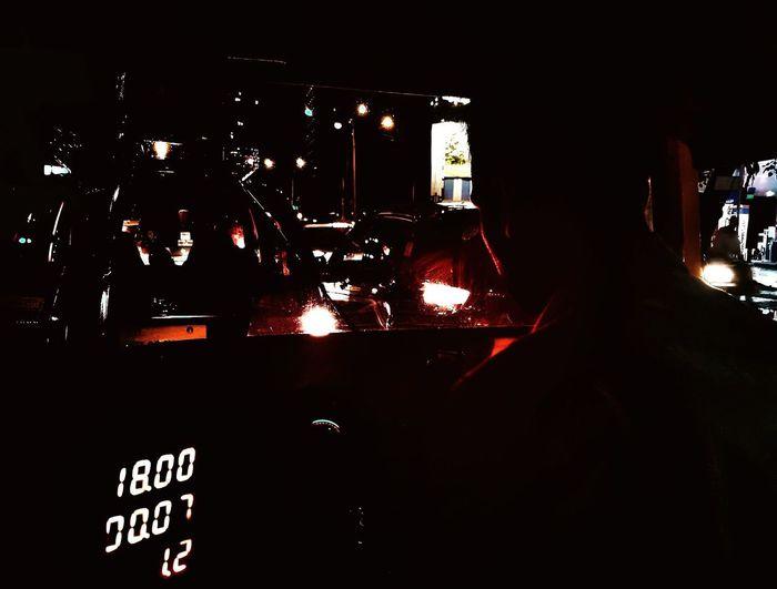 Night Driver Mumbai India Street Dark Llight Red Close-up HUAWEI Photo Award: After Dark EyeEmNewHere