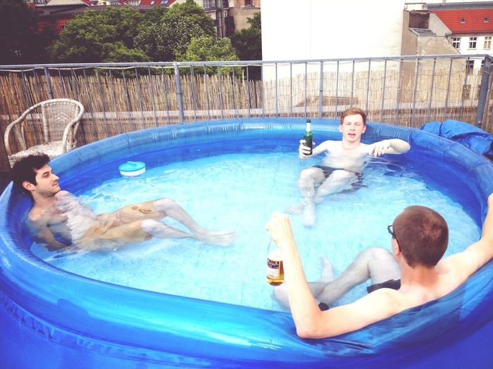 Life Is Hard Startup Soup Sausage Party Paddling Pool