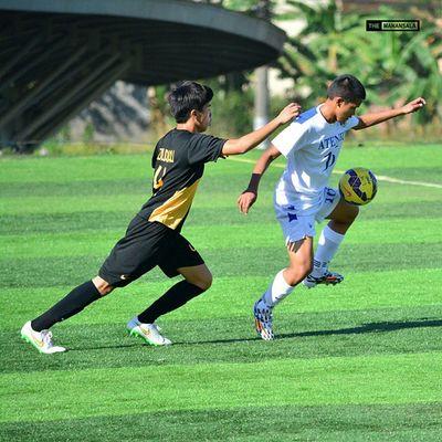 @kikoalivia ⚽ . . . UAAP Uaap77 Uaapseason77 ADMUvsUST ateneo ust sbspotlight soccerbible juniors football themanansala
