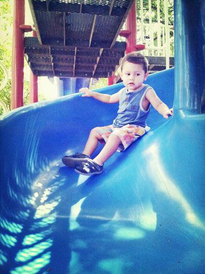 Playground Jumping Playing
