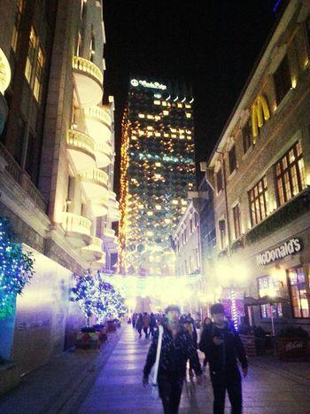 New Year 2014 @Hanjie, Wuhan, China Relaxing Shopping Quality Time