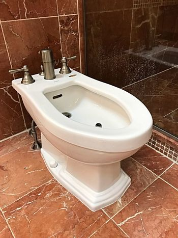 Budai Bathroom Domestic Bathroom Hygiene Domestic Room Home Sink Faucet Toilet Bowl Indoors  Toilet White Color Home Interior Household Equipment Ceramics Tiled Floor No People Tile