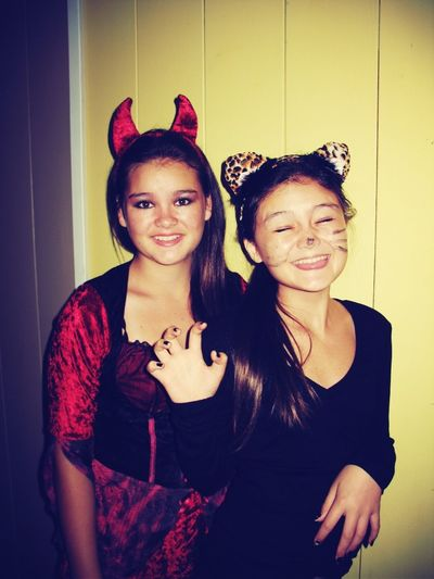 Last Halloween....all I did was pass out candy :(