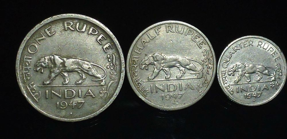 British Indian Coins. Ancient Civilization No People Close-up Silver - Metal Currency