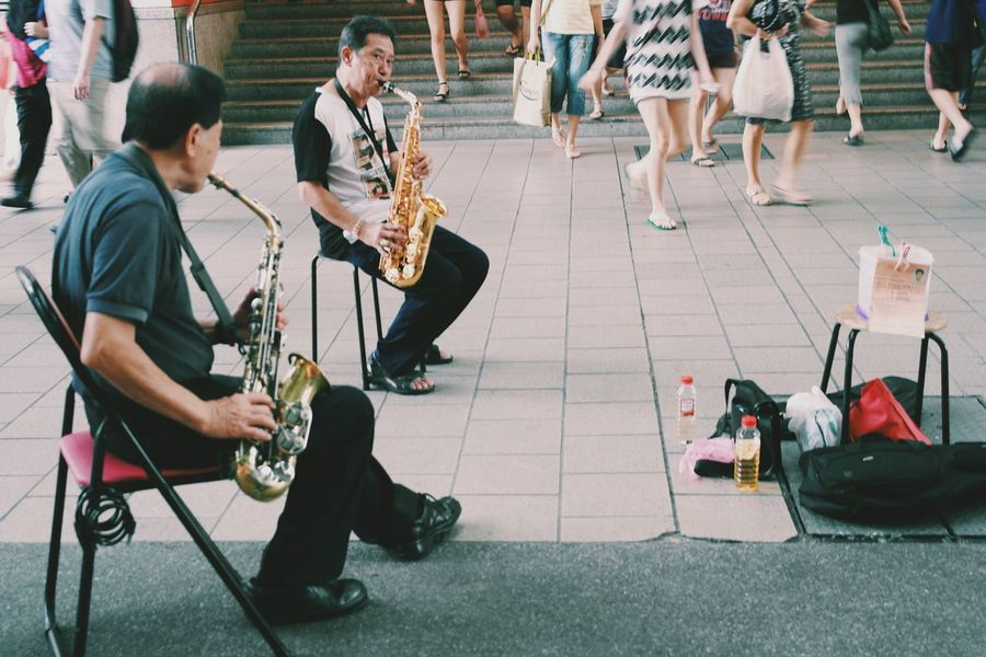 What Does Music Look Like To You? Music Pioneer Saxophone