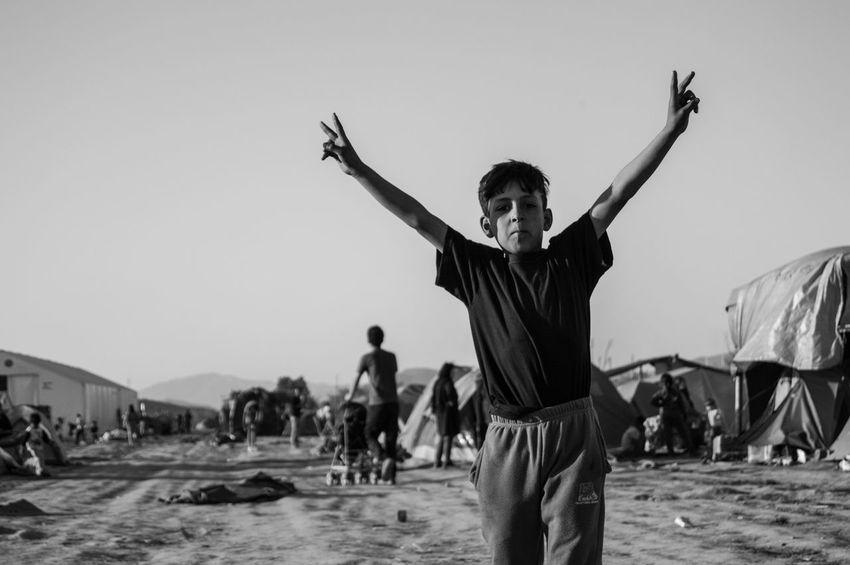 Aid Black And White Crisis Help Humanitarian Idomeni Refugee Response Social Camp