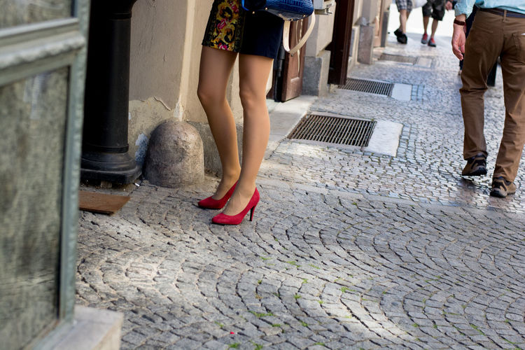 Day Footpath Heels Human Foot Legs Limb Low Section Outdoors Person Sexygirl Sexylegs The Way Forward