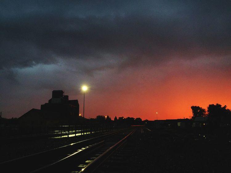 daybreak Sunrise Railroad Create Pma Inspire NoDak Noregrets Allday