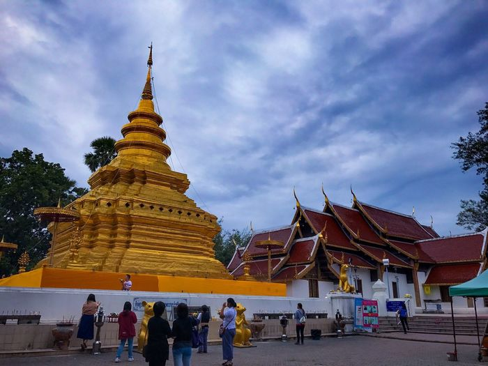 Chomtong Temple chomtong Chiangmai Thailand