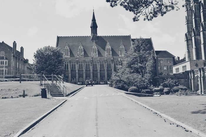 Lancing College Lancing  History Historical Building Uk Black And White B&W Collection Eye4photography  Streetphotography