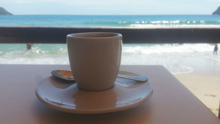 Drink Summer Summer 2017 Caffè Caffee☕ Caffeine Cooffee Cooffetime Sea Coffee - Drink Food And Drink Coffee Cup Cafe Beach Day Coffee Break Cooffeelover Horizon Over Water Food Travel Photography Travel Destinations Foodblogger Foodgram Foodpics Foodlover