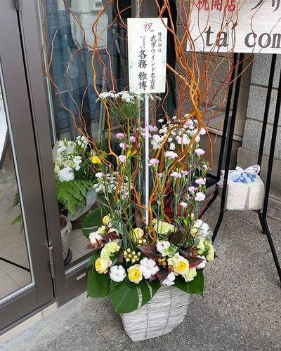 お店をステキに作ってくれた店舗設計・施工の武市ウインド名古屋さん、本当にお世話になりました!