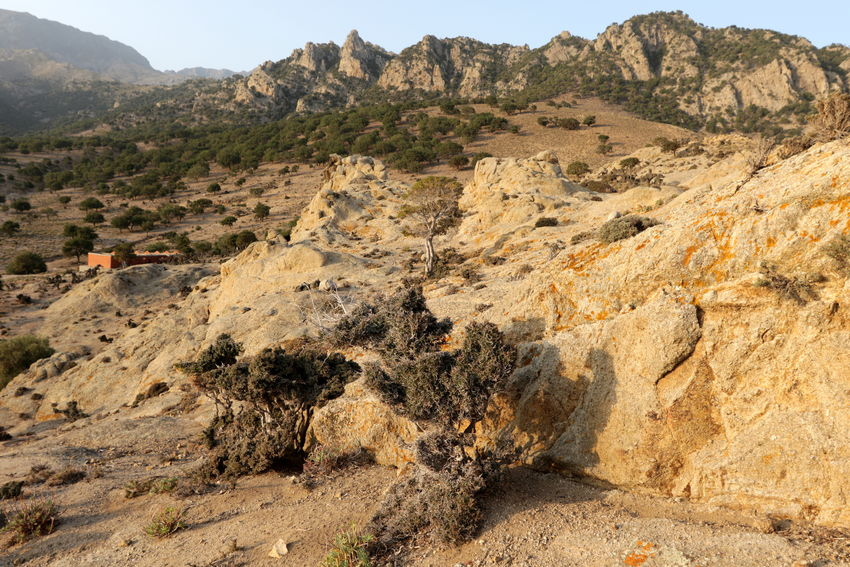 View of arid landscape in the island of Samothrace. in northern Greece. Adventure Arid Landscape Beauty In Nature Day Greece Landscape Mountain Mountain Range Nature No People Outdoors Samothrace Sky