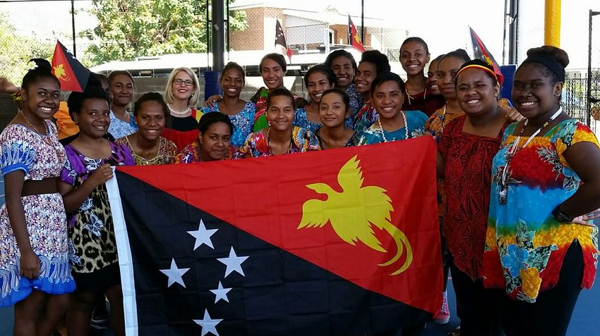 Happy 40th Independence Day Papua New Guinea!! Papua New Guinea Hello World group Independence Day Celebration National Flag National Day Beautiful Girls