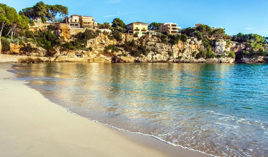 On the beach of