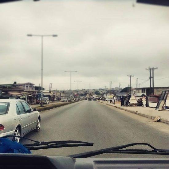 Views From the windscreens.... Daybreak Kumasi Androidography AndroidPhotography Ghana ghana360 traffic icomefromKumasi