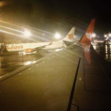 Night flying Airport From The Plane Window IPhoneography EyeEm Indonesia