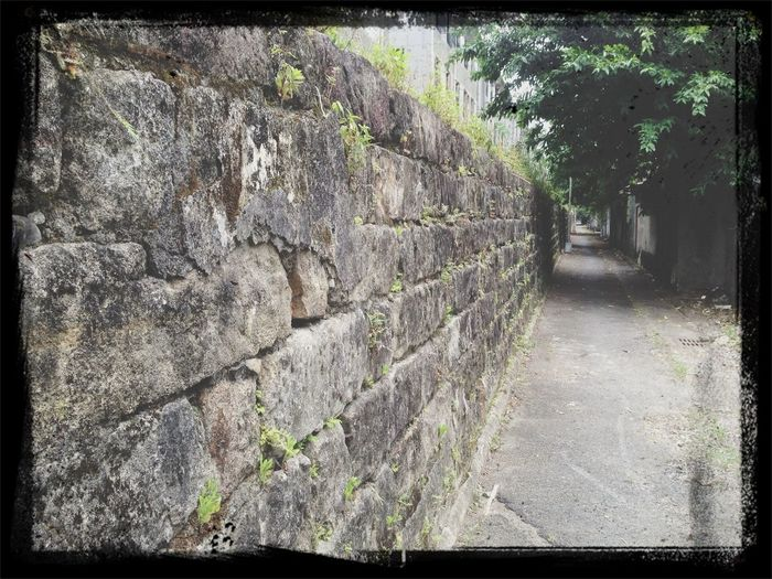 Old Taipei prison walls