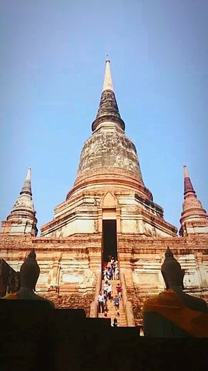Thailand Ayutthaya Historical Place Temples Sadhusadhusadhu Anxiety  Nice Weather Peace In The Heart