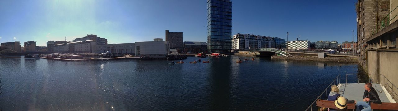 180° Dublin Grand Canal Dock Water