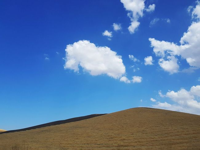 Minimalism Minimal Landscape Countryside Arid Landscape Arid Climate Rural Cloud - Sky Nature Landscape_Collection Landscape Scenic Landscapes Scenic Tranquil Scene Farmland Sicily Italy Hill Agricolture