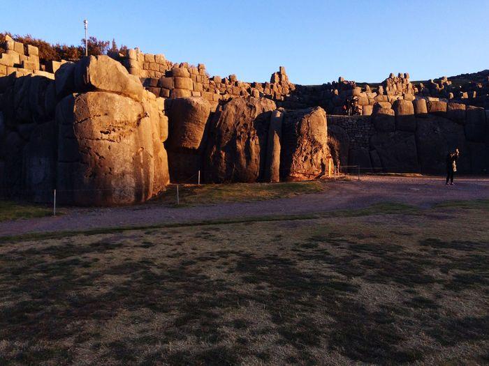 Inca Ruins Sacsayhuaman Traveling Peru Tourism