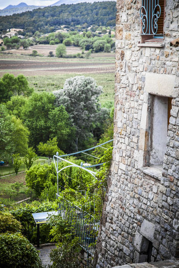 Salernes , Provence, France Europe Salernes Architecture Building Exterior Built Structure Day Mountain Nature No People Outdoors Tree