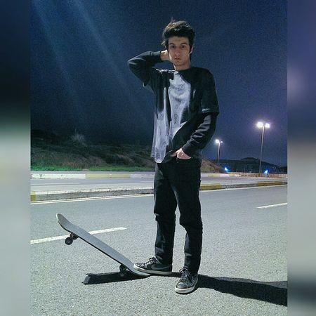 Skatelife Night Relaxing Skateboarding Light And Shadow First Eyeem Photo