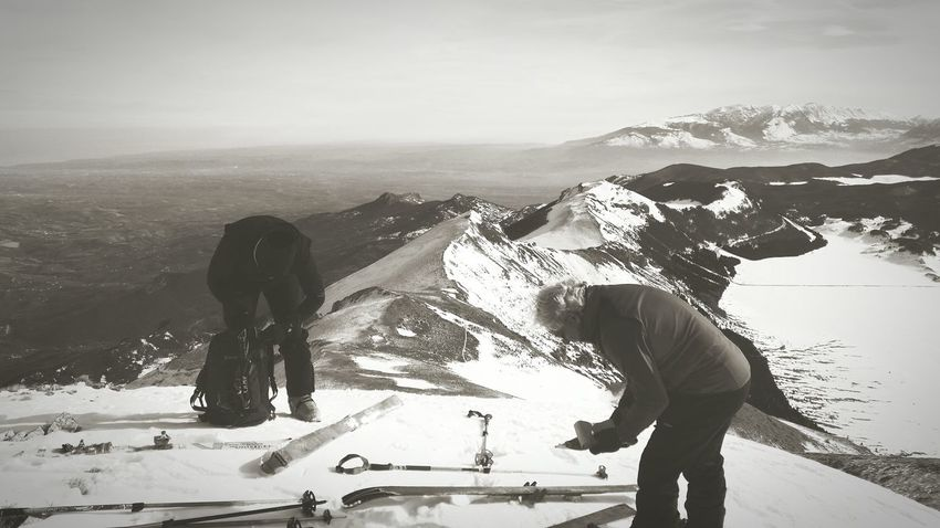 Skialp Alpinism Abruzzo Enjoying Life Snow Nature Mountain Parconazionaledabruzzo Relaxing Winter Black & White EyeEm Best Shots