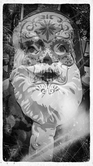 Dia De Los Muertos Santa
