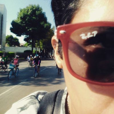 PaseoDeTodos DíaInternacionalDeLaBicicleta RunningBike Bicicleteando RayBan Mañana 👓🚲📷