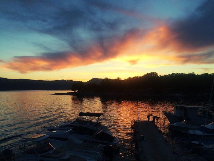 Sunset Krk