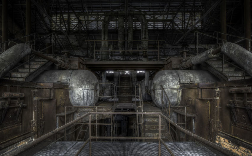 Decay Abandoned Abandoned Buildings Absence Architecture Built Structure Day Equipment Factory History Indoors  Industrial Equipment Industry Metal Metal Industry No People Obsolete Old Pipe - Tube Rusty Technology The Past Urbex Urbexphotography