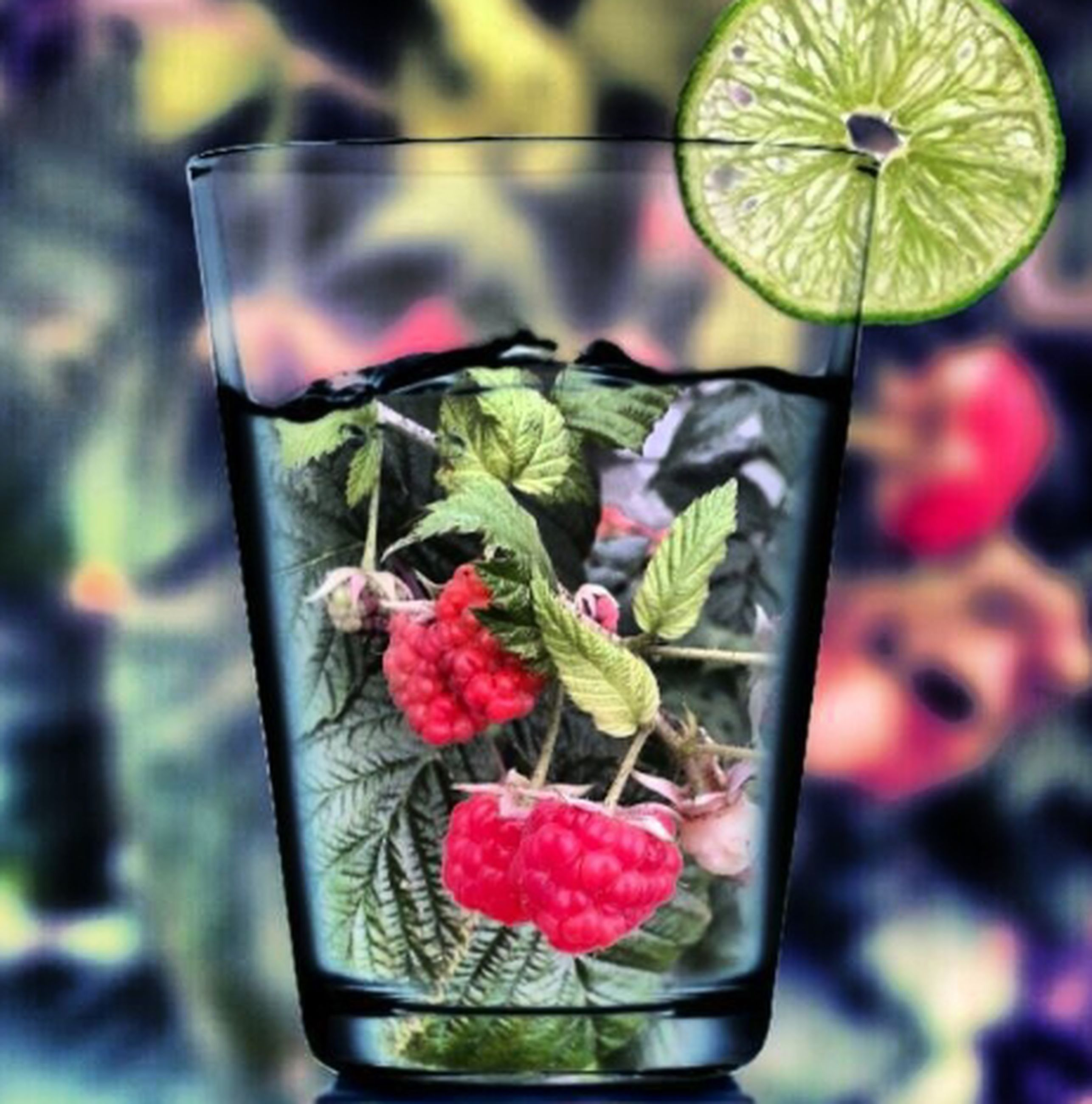 food and drink, freshness, food, healthy eating, fruit, indoors, close-up, still life, focus on foreground, table, ready-to-eat, red, strawberry, glass - material, organic, drinking glass, indulgence, selective focus, vegetable, leaf