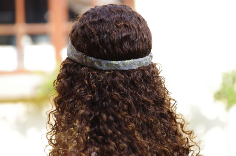 Alone Brunette Close-up Curly Hair Focus On Foreground Hair Hair Style Lifestyles