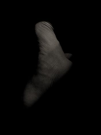 Photography Fine Line IPhoneX Black And White Blackandwhite EyeEmNewHere Human Foot Foot Human Body Part Black Background Close-up People