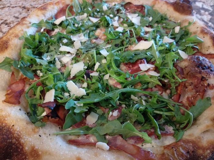 Betterthanitalt Parmigiana Artisian Cooking Best  Starter Arugula Pizza Herb High Angle View Close-up Food And Drink