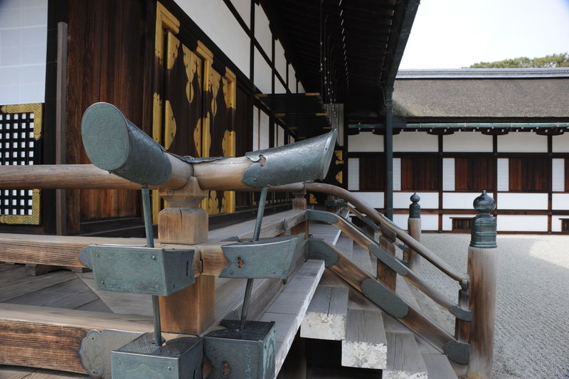 Imperial Railing Day Full Length Imperial Architechture Imperial Palace Japanese Culture Japanese Railing Japanese Style Outdoors People Wood - Material