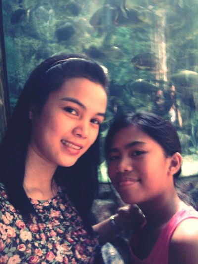 with my pamangkin. missy,