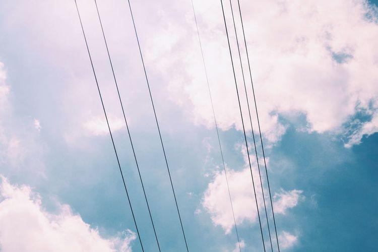 空と電線 Cloud -