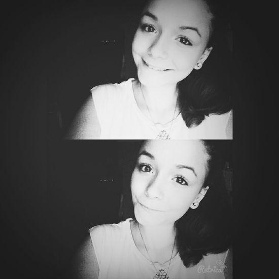 Black& White :* Hello World Selfie Portrait Model Fashion