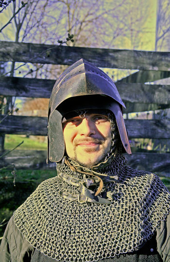 Donja Stubica Croatia Europe Front View Happiness Helmet History Looking At Camera Peasants' Revolt, Person Portrait Real People Stubaki Young Adult