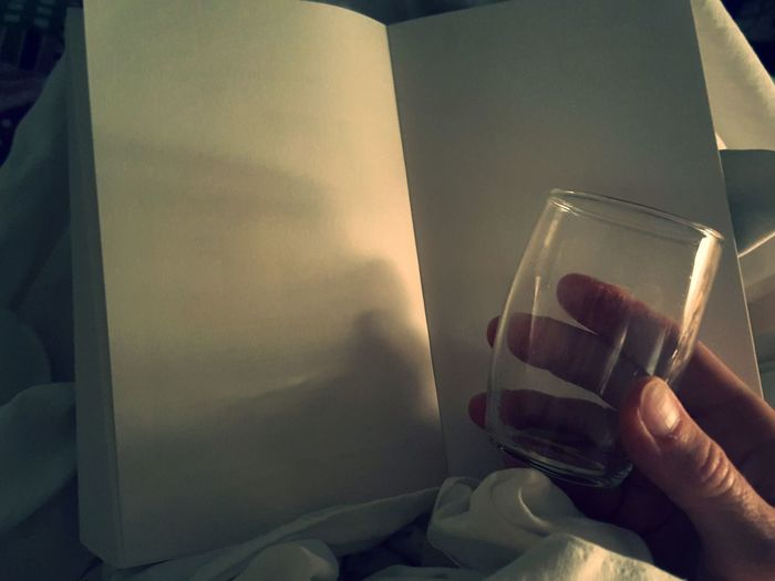 Book Blankness Blank Allone  Lonely Lonely Time Night Blank Page Blank Paper Empty Glass Simplicity Empty Sad Sadness End End Of The Day Melodramatic