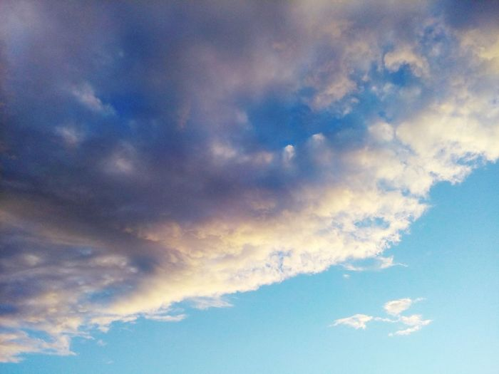Sky Cloud - Sky Weather Cloudscape Backgrounds Outdoors Beauty In Nature Blue Nature Sky Only Sky And Clouds Day No People Scenics First Eyeem Photo FirstEyeEmPic First Eyem Photo