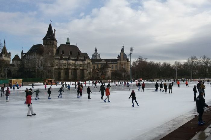 Ice skateing in the City Park City Park Ice Shades Of Winter Vajdahunyad Castle Vajdahunyad Vár Architecture Cloud - Sky Clouds Cold Temperature Ice Rink Ice Skating Ice-skating Large Group Of People Leisure Activity Outdoors People Real People Sport Winter Winter Sport